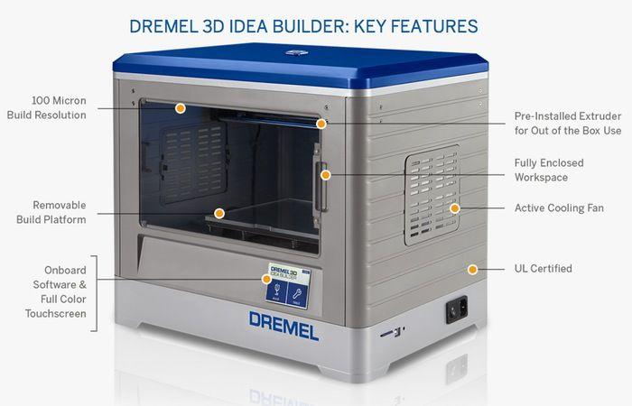 Dremel 3D Printer Idea Builder Launches For $999