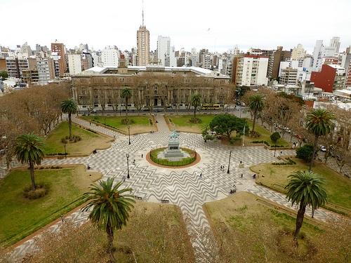 """""""La plaza San Martín"""" (Rosario, Argentina)"""