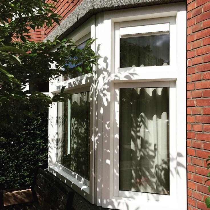 Een kunststof erker in Den Haag! www.belisol.nl