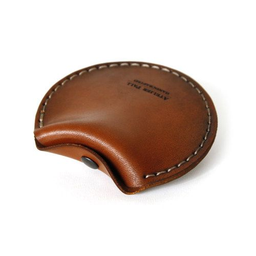 Headphones Case in Brown - AtelierPALL.com