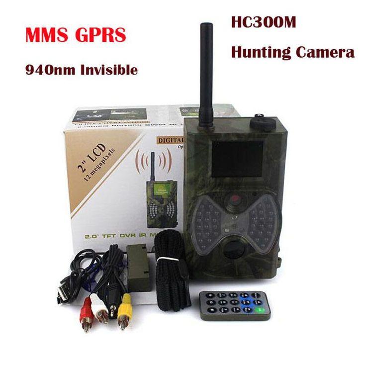 940NM scouting hunting camera HC300M New HD 1080P GPRS MMS Digital Infrared Trail Camera GSM 2.0' LCD IR Hunter Cam