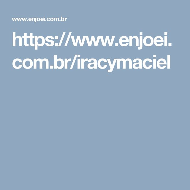 https://www.enjoei.com.br/iracymaciel
