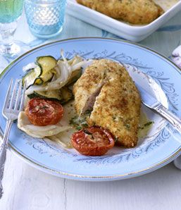 Crunchy garlic and herb chicken
