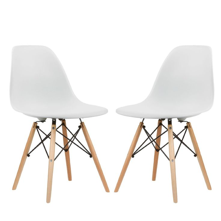 Amazon Com Poly And Bark Eames Style Molded Plastic