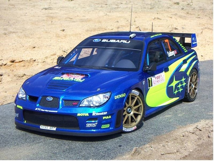 Volkswagen Group Latest Models >> Super Scale Tamiya Subaru Rally 1/10   R/C cars ...