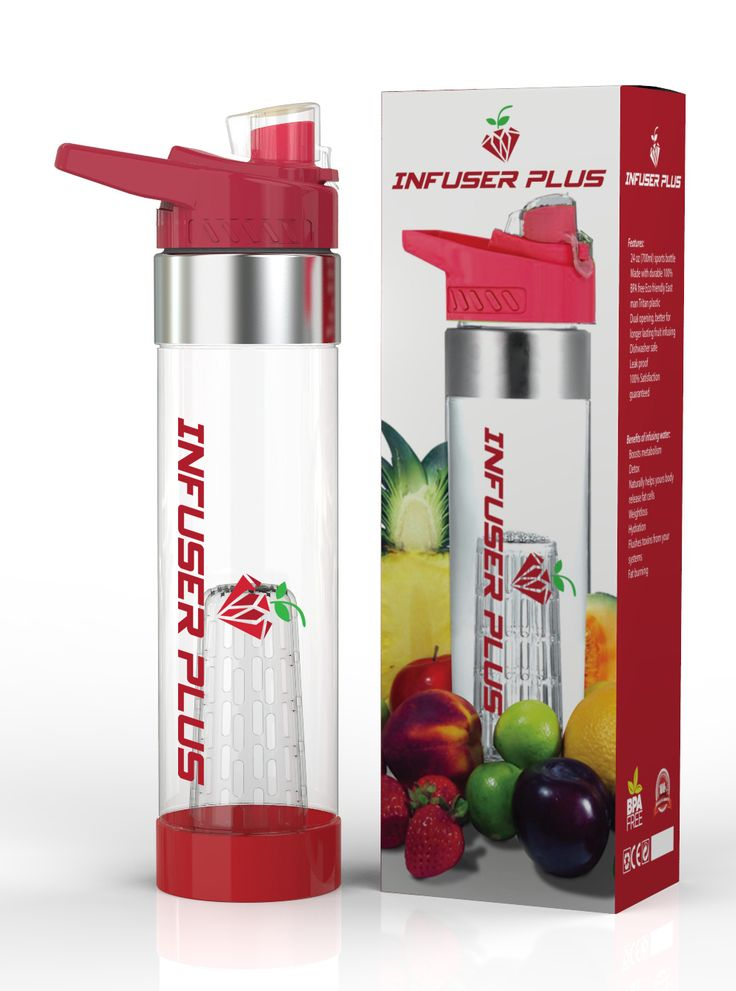 DRINK MORE WATER, STAY HEALTHIER - Water is the single most powerful preventive measure and cure for many of the diseases and health issues but sadly no one consumes enough of it. Our fruit infuser water bottle can make the water taste better and that too without the addition of any unhealthy, artificial or calorie-rich products. This creative product will definitely make you want to drink more water and thus take better care of yourself without any extra efforts