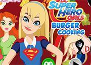 DC Super Hero Girls Burger Cooking