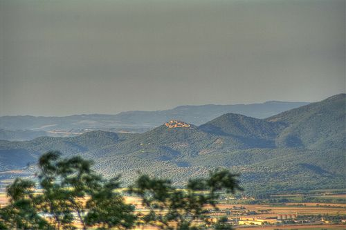 Sticciano in Maremma Grossetana from Montepescali