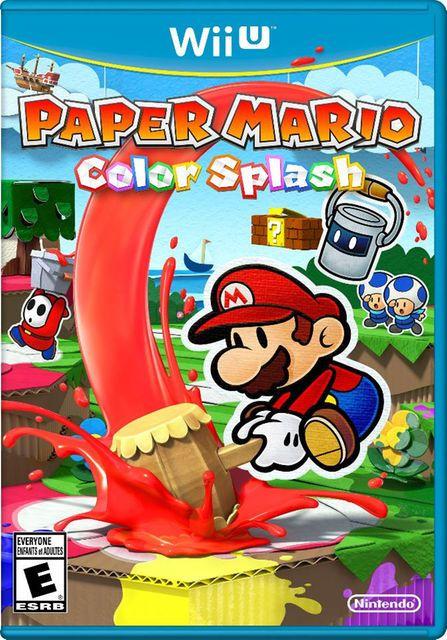 Paper Mario: Color Splash for Nintendo Wii U