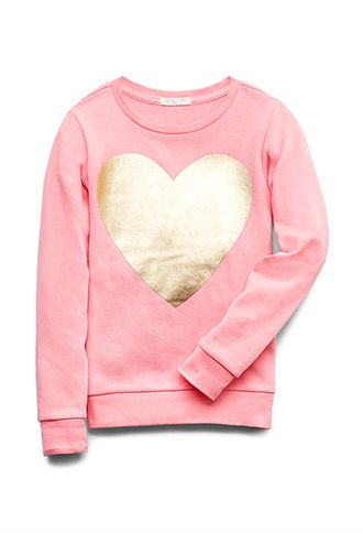 Heart Of Gold Sweatshirt (Kids) | FOREVER21 girls - 2000129565 #F21CRUSH