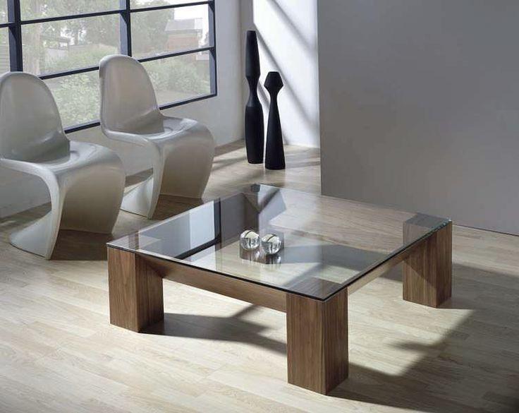 Mesa de centro / moderna / de madera lacada / cuadrada - BEA - Tadel Grup