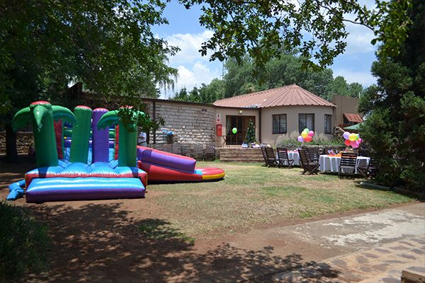 Space for everything at Klip River Country Estate