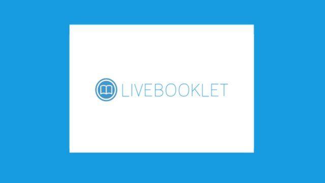 Livebooklet. Création de flyers et de publications en ligne. #tice