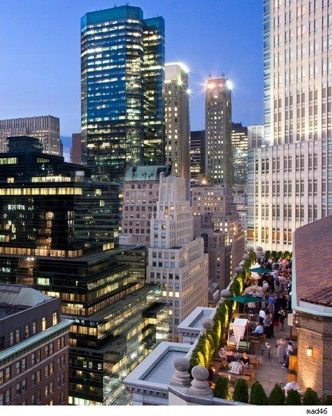 Rooftop terrace (and many more followed ;-)), NY june '13