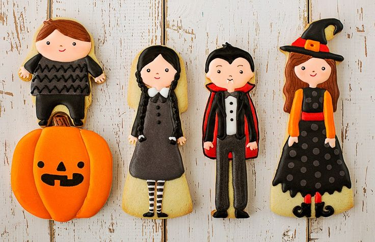 Adorable Halloween cookies. www.piccolielfi.it