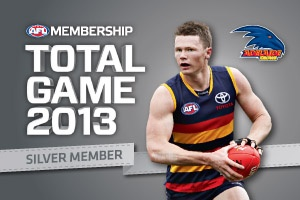 Adelaide Crows Club Support Membership Card