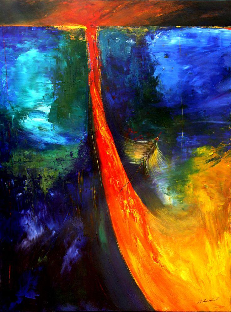 """Birth Of The Phoneix""- original art by Andrew Grech www.andrewgrech.com"