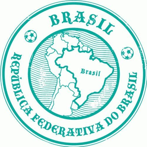 Brazil Travel Car Bumper Sticker Decal 5x 5 *** Check out the image by visiting the link.Note:It is affiliate link to Amazon.