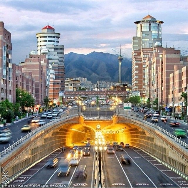 Tohid Tunnel , Tehran City | Discover Persia (Iran ...
