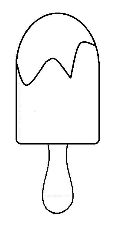 popsicle stick coloring page coloring pages
