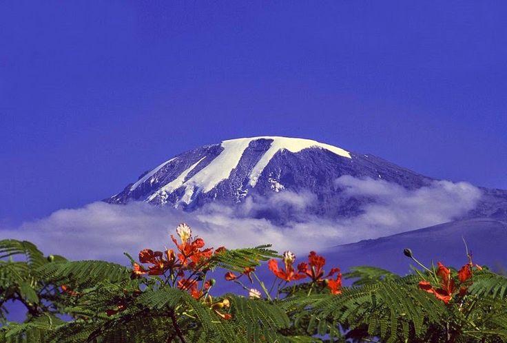 Самые загадочные места планеты: Гора Килиманджаро в Танзании, Африка (28 фото)