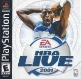 NBA Live 2001 - PS1 Game