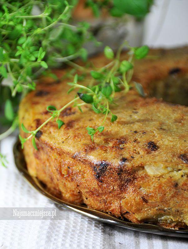 Babka ziemniaczana z boczkiem, babka ziemniaczana, babka, http://najsmaczniejsze.pl #food #babka #ziemniaki #obiad