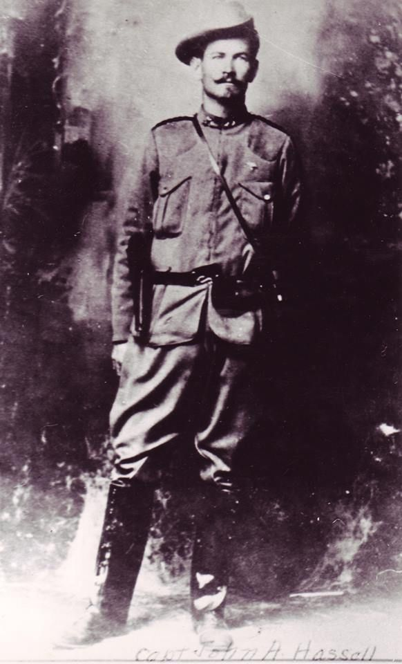A Hussel, american volunteer in the ABW