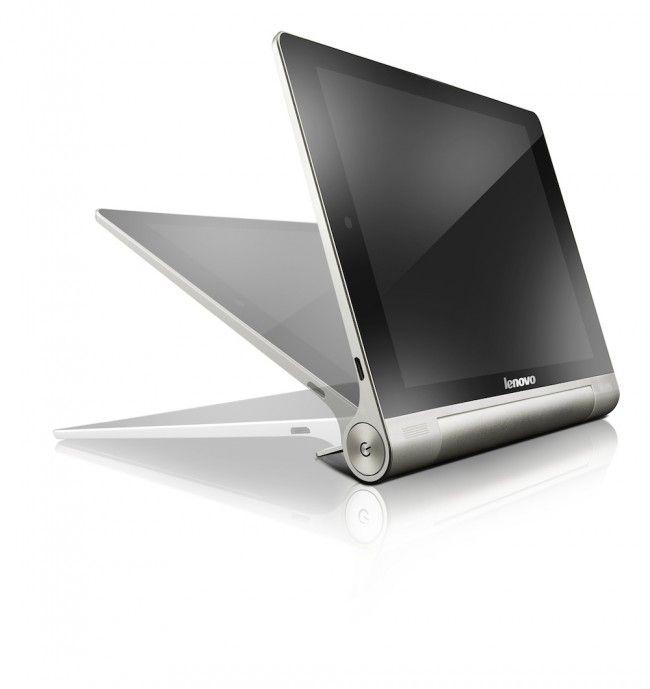 Lenovo Yoga Tablet lancia la sfida ad Apple e Samsung