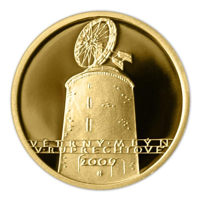 Veterný mlyn v Ruprechtově - 2009 Proof
