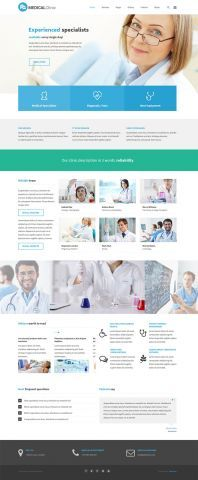 PE Services - clinic company version #WordPress #Theme