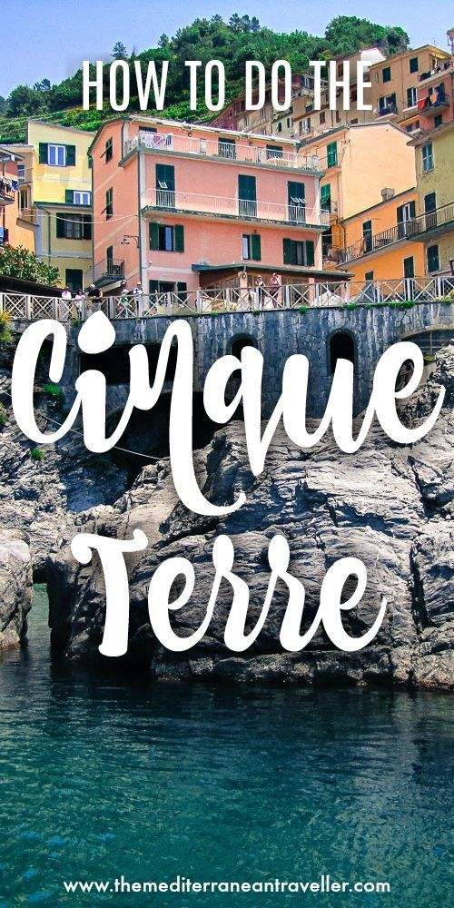 The Cinque Terre is one of the most beautiful and popular (and crowded) destinations in Italy. Here's everything you need to know for planning a trip - a guide to the villages, how to get there and around, and how to make the most of hiking this stunning region. #travel #italy #cinqueterre #travel #tips #ultimate #guide #liguria #ladolcevita #hiking