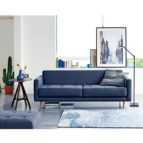 Buy Matthew Hilton For Case Metropolis Large Sofa Charcoal Online At Johnlewis Living Room