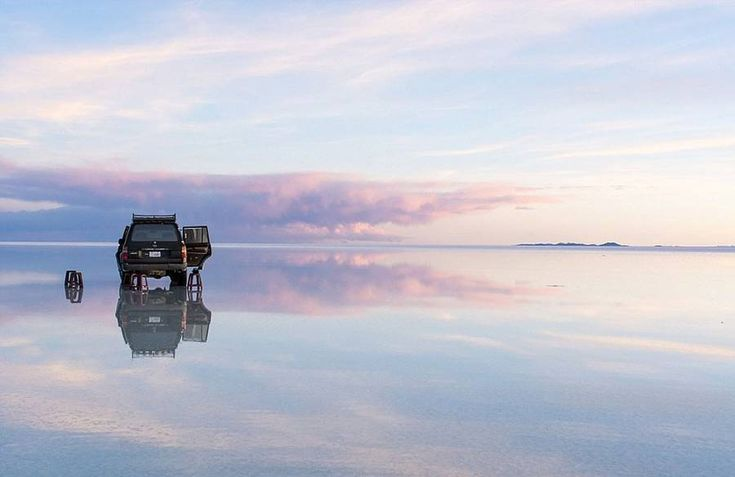 Reflecting Salt Flat In Bolivia – Fubiz Media