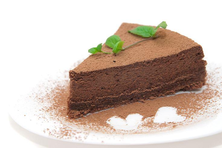 Τάρτα σοκολάτας με μους σοκολάτας   ION Sweets