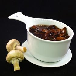 Bordelaise Sauce with Mushrooms - Use as a topping for steaks, roasts or any beef cut.
