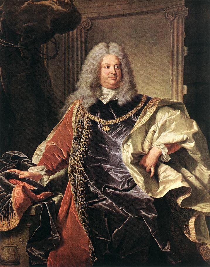 Hyacinthe Rigaud - F. V. Sinzendorf (1712)