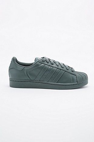 Adidas X Pharrell Supercolor Superstar Trainers in Grey - Urban Outfitters