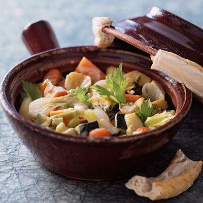 Découvrez la recette de la cocotte de légumes au gingembre