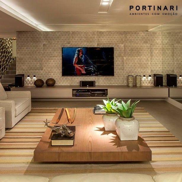 Para Um Ambiente Muito Mais Interessante O Arquiteto Andremartins2012 Apostou No Revestimento Sides Concreto Da Ceramicapo Interior Design Flat Design Decor