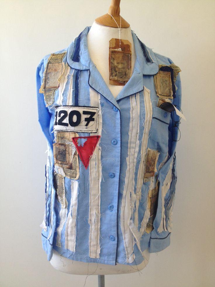 Lizzie peck - exam piece Concentration camp pyjamas