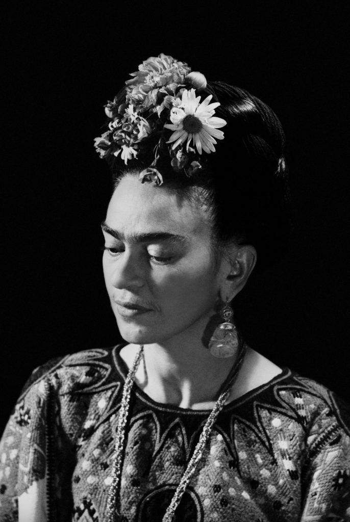 Marcel Sternberger, Frida Kahlo, Mexico, 1952. Courtesy of Frida Kahlo Corporation, © Stephan Loewentheil.