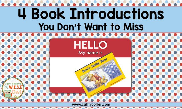 Introducing a book can make or break a small group lesson.  Make sure your introductions remind students of strategies, introduce vocabulary and support comprehension.