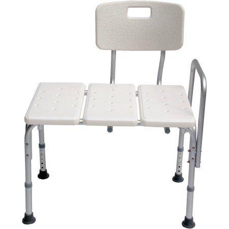accela lightweight bath transfer bench