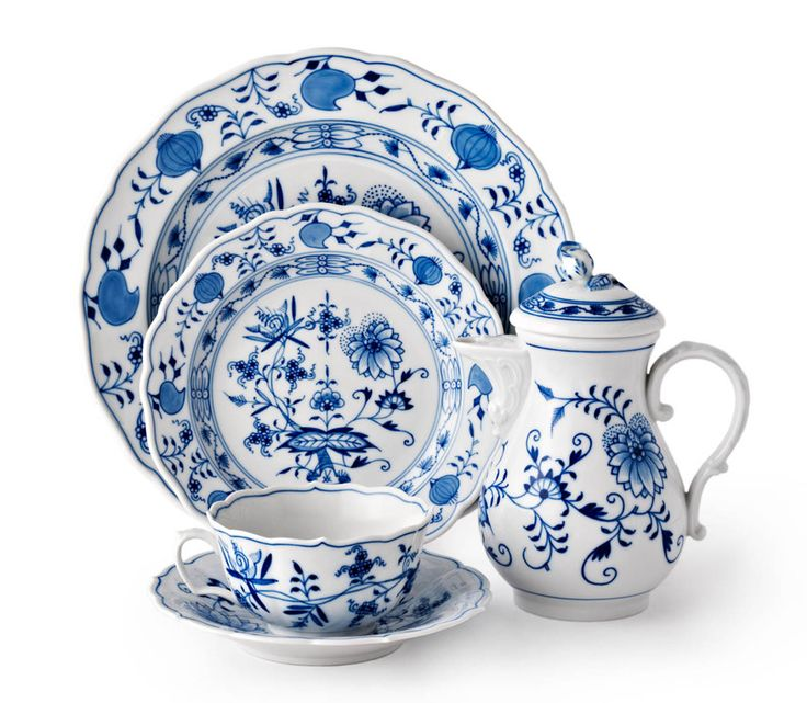 Meissen Blue Onion China. I have one piece left from my paternal grandmother.