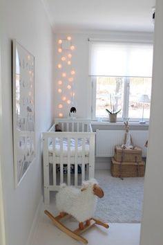 Baby Room Decoration #white #grey #yellow #neutral #unisex