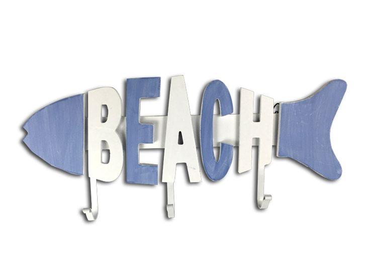 >> Click to Buy << Handmade Painted Mediterranean Style Letter Fish Garden Wall Mounted Hook Dress Hat Coat Hanging Hanger Bathroom Robe Hooks #Affiliate