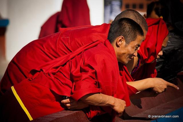 Monks In Joy
