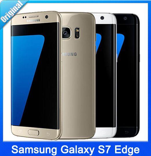 Barato S7 borda novo samsung galaxy s7 edge 5.5 ''snapdragon 820 4g RAM 32G ROM Android 6.0 SmartPhone 12.0MP CÂMERA À Prova D' Água DHL Navio Livre, Compro Qualidade Celulares diretamente de fornecedores da China:                                                                           100%Original Nova Marcatelefone Ba