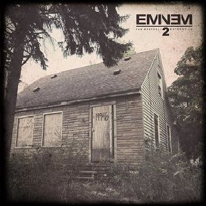 The Marshall Mathers LP 2 by Eminem - abandoned house